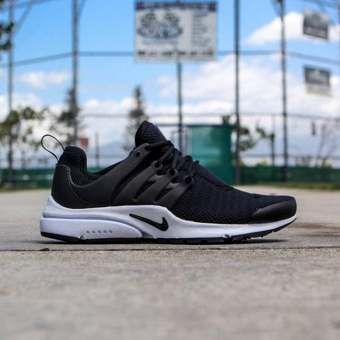 Nike Women Nike Air Presto Black White Black In 2021 Nike Running Shoes Women Black Nike Shoes Sneakers Men Fashion