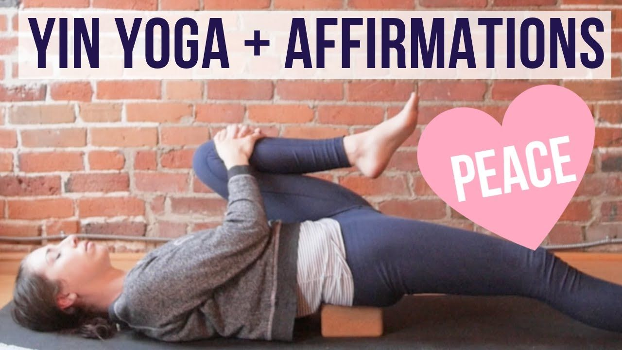 Yin Yoga Sequence For Inner Peace