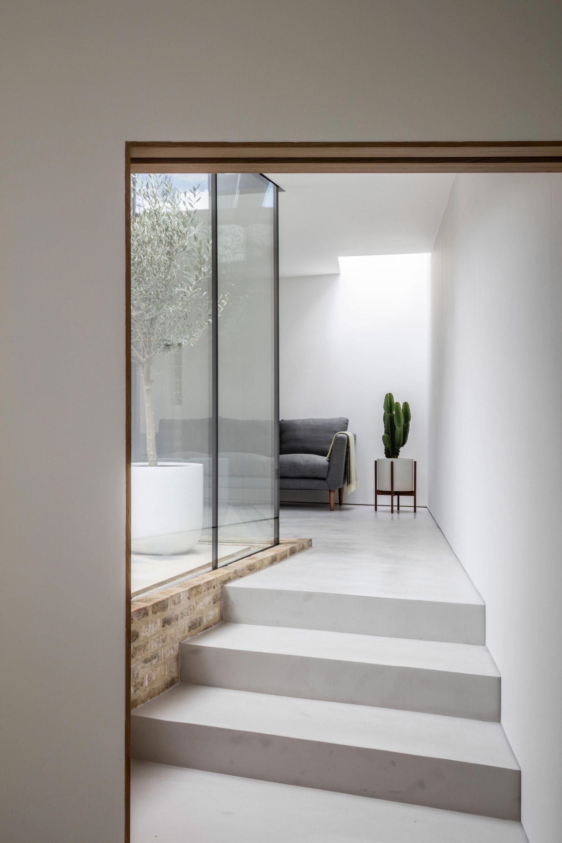 Whole house is  minimal located in london united kingdom designed by hayhurst also rh pinterest