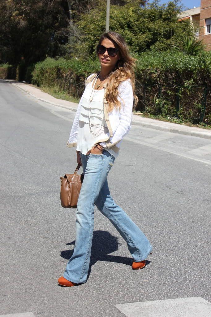 6601decb2a78 summer outfits womens fashion clothes style apparel clothing closet ideas  white cardigan sunglasses jeans handbag