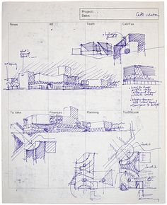 Architectural Hand Drawn Presentation Sheets Google Search