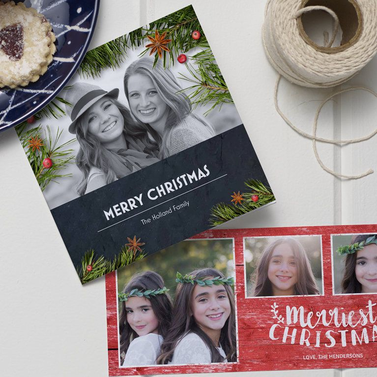 custom holiday cards from vistaprint christmas - Vistaprint Holiday Cards