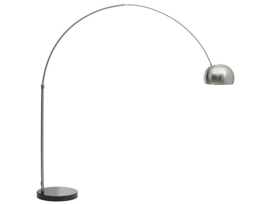 Arc floor lamp black structube