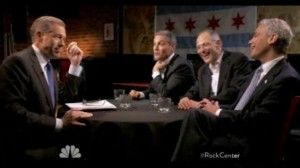 """Don Irvine: Rahm Emanuel's brother upset at NBC over """"Rock Center"""" interview. REPIN if the Emanuels shouldn't expect royal treatment from the press!"""