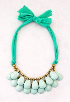 bulky mint necklace | Mint Bridesmaid Necklace - Mint Green Necklace - Pale Green Bridesmaid ...