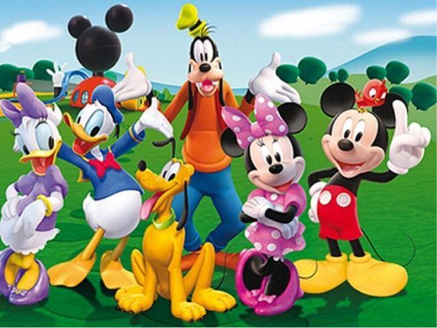 Disney Dibujos En Color: Dibujos De Walt Disney PARA IMPRIMIR A COLOR