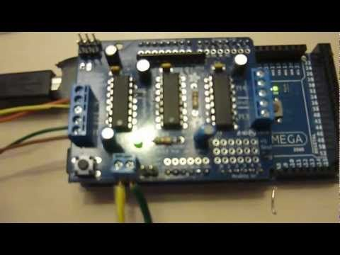 Arduino Controlled Stepper Motor - YouTube