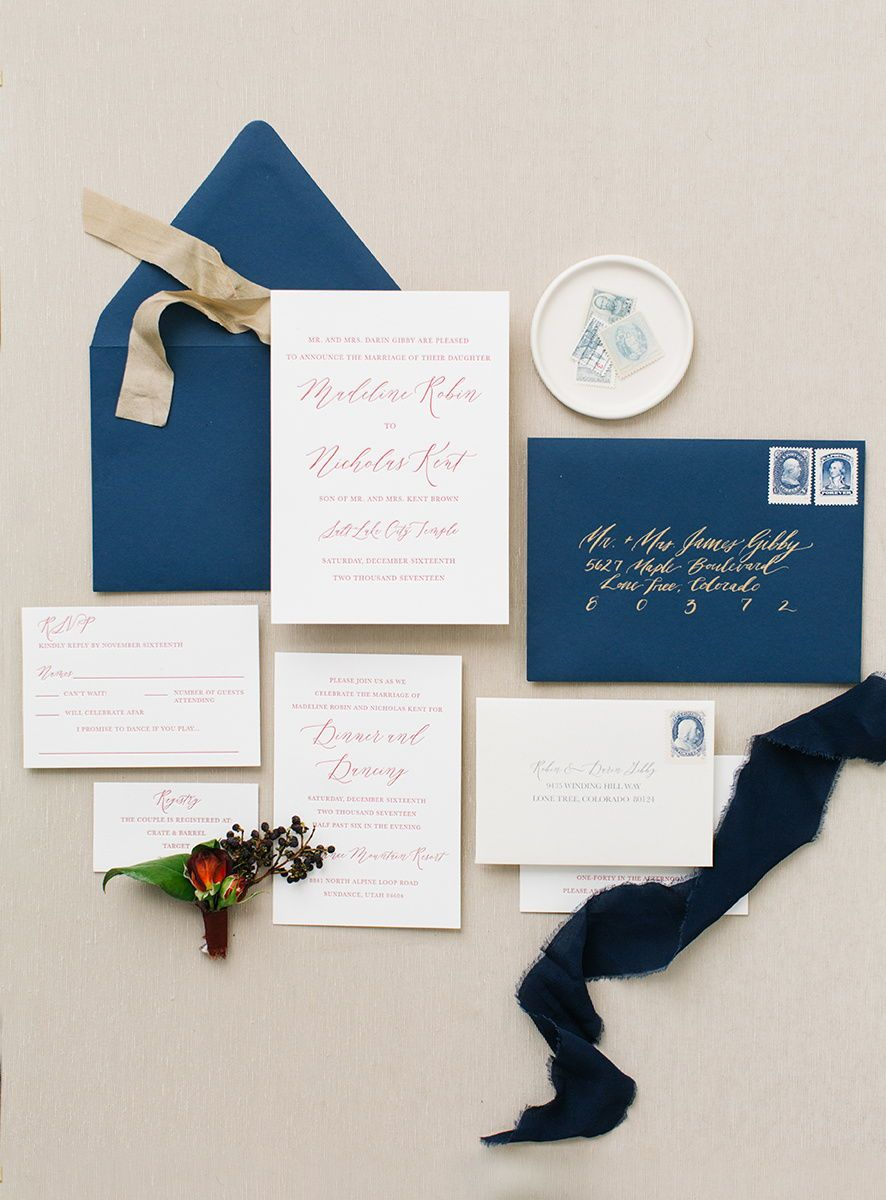 Ink u press co by mikyla marie gold foil calligraphy