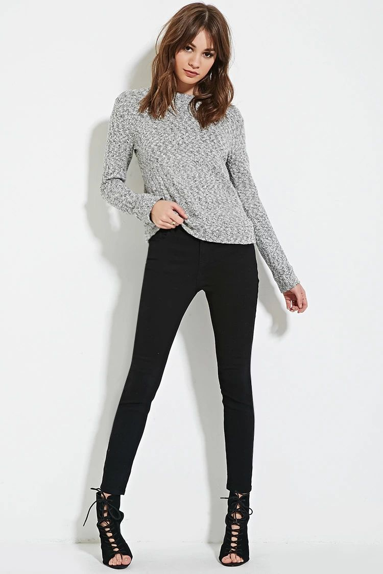 Mid-Rise Skinny Jeans | Forever 21 #thelatest