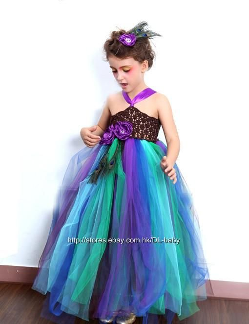 WHITE FLOWER GIRL DRESS CHRISTMAS PAGEANT PARTY MIX COLOR S M 2 4 6 8 10 12 14