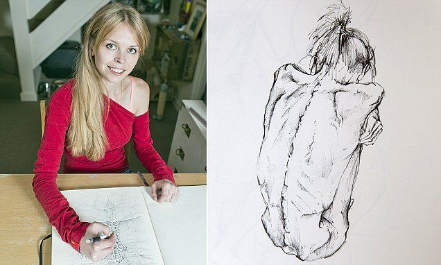 Anorexic art student realises stick-thin woman in drawings is her | Daily Mail Online www.dailymail.co.uk636 × 382Search by image Anneka (pictured) weighed just five-and-a-half stone when she was admitted to hospital with a dangerously low BMI of 13.3