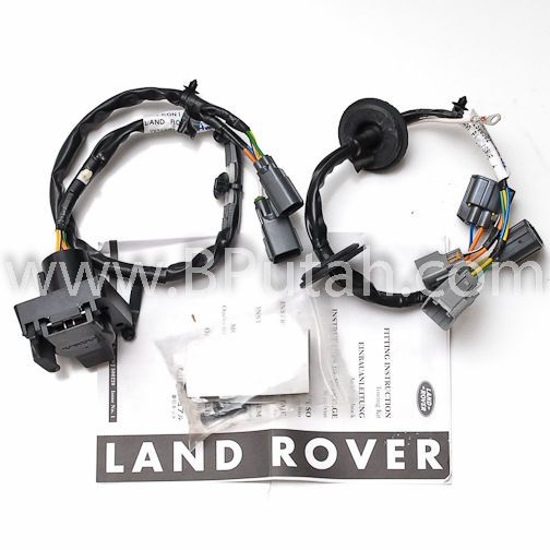 Land Rover Lr3 Tow Hitch Trailer Wiring Wire Harness Electric Ywj500220 New Oem: Land Rover Lr3 Trailer Wiring Diagram At Mazhai.net