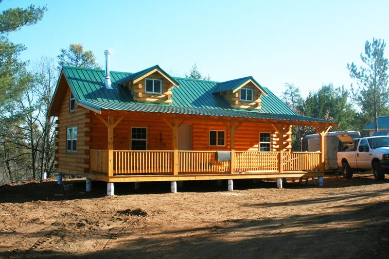 Amish Built Cabin In Wisconsin Cabin Cabin Homes