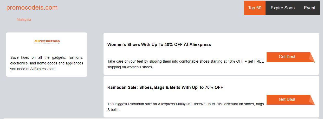 Ali Express Promo Voucher Discount Coupon Code Malaysia May 2019 Promocodeis Com Aliexpress Discount Codes Coupon Promo Coupon