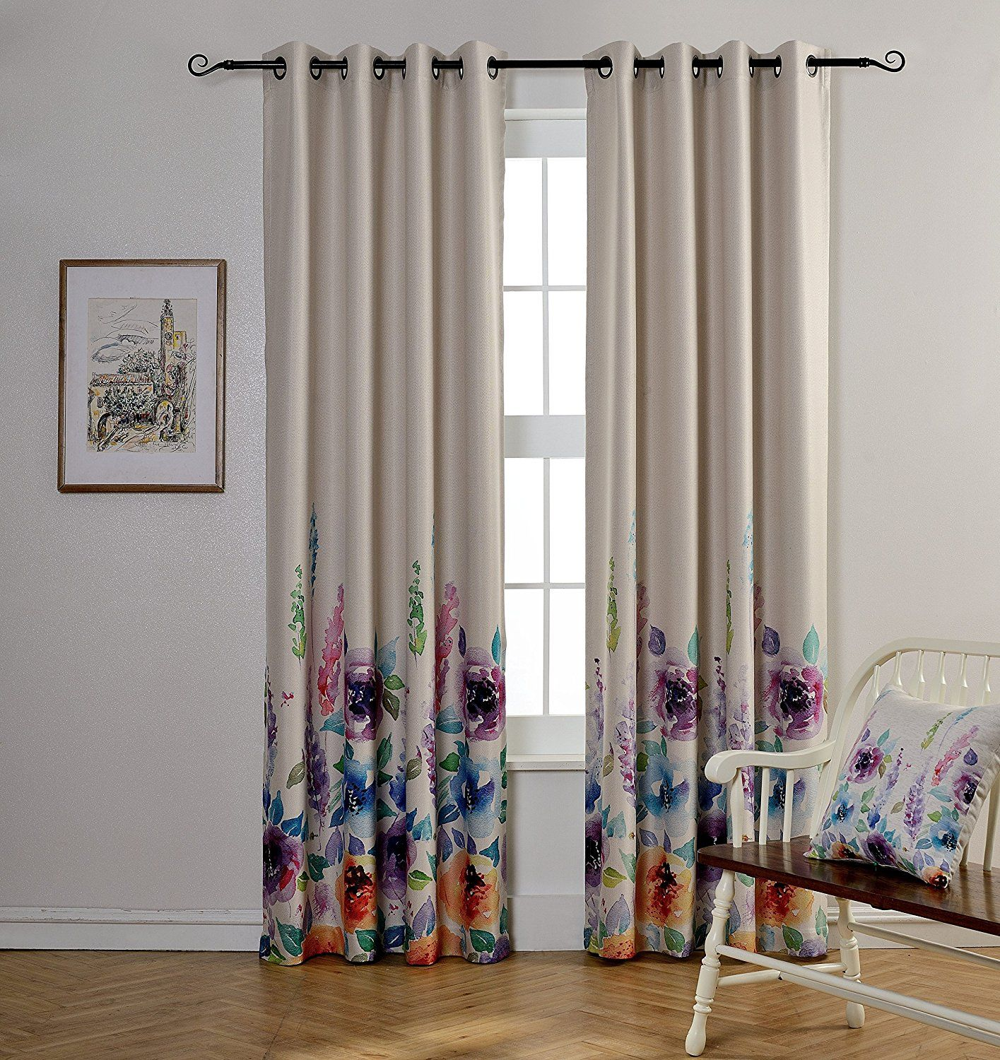 width curtains amazon top wide thermal fashion with pin curtain best grommet com blackout home