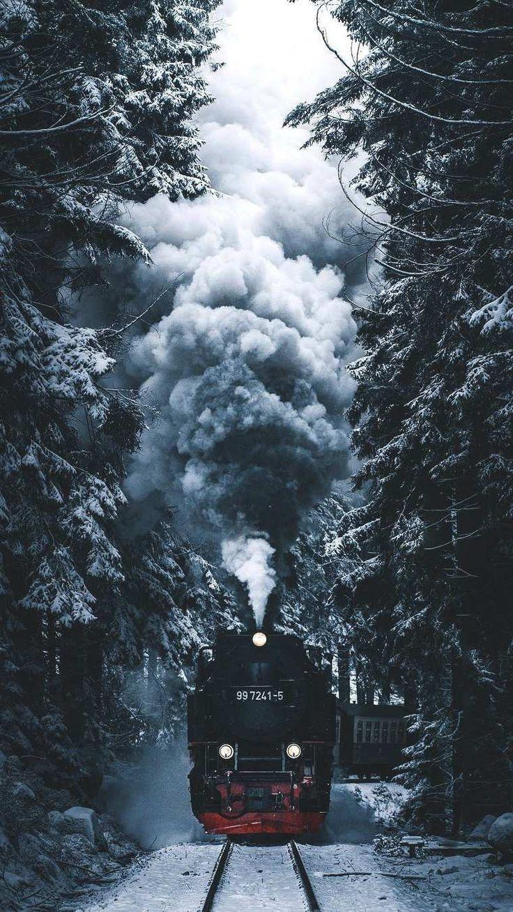 Winter Express iPhone Hintergrundbild SCHÖNE IPHONE HINTERGRUNDBILDER SIND AUCH…