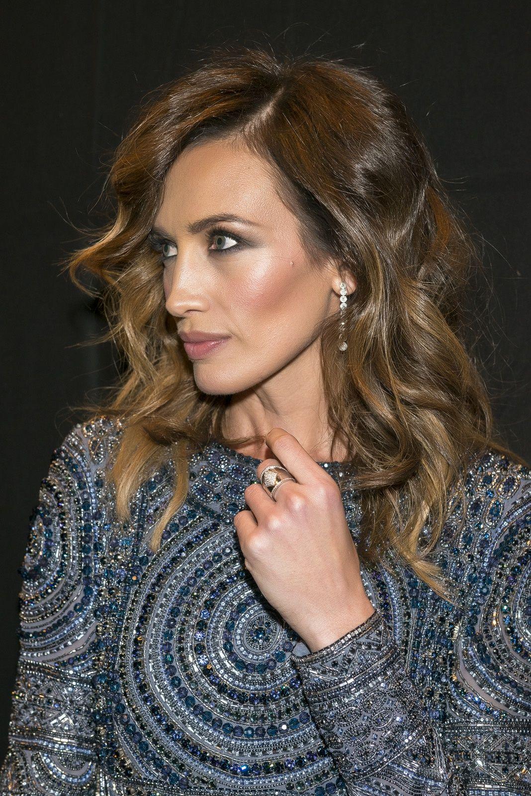 Nieves Álvarez Premios T de Telva con joyas de @Joyeria Suarez