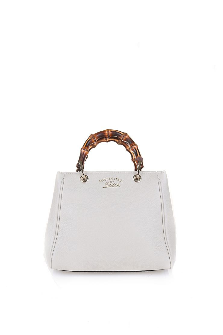 5379358a15b Gucci Mini Bamboo Tote. Find this Pin and more on Shop with What Goes  Around Comes ...