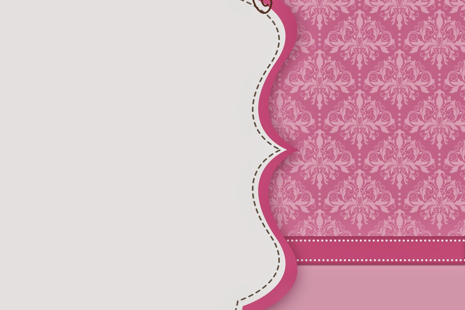 Damascos rosa invitaciones para imprimir gratis - Fotos de damasco ...