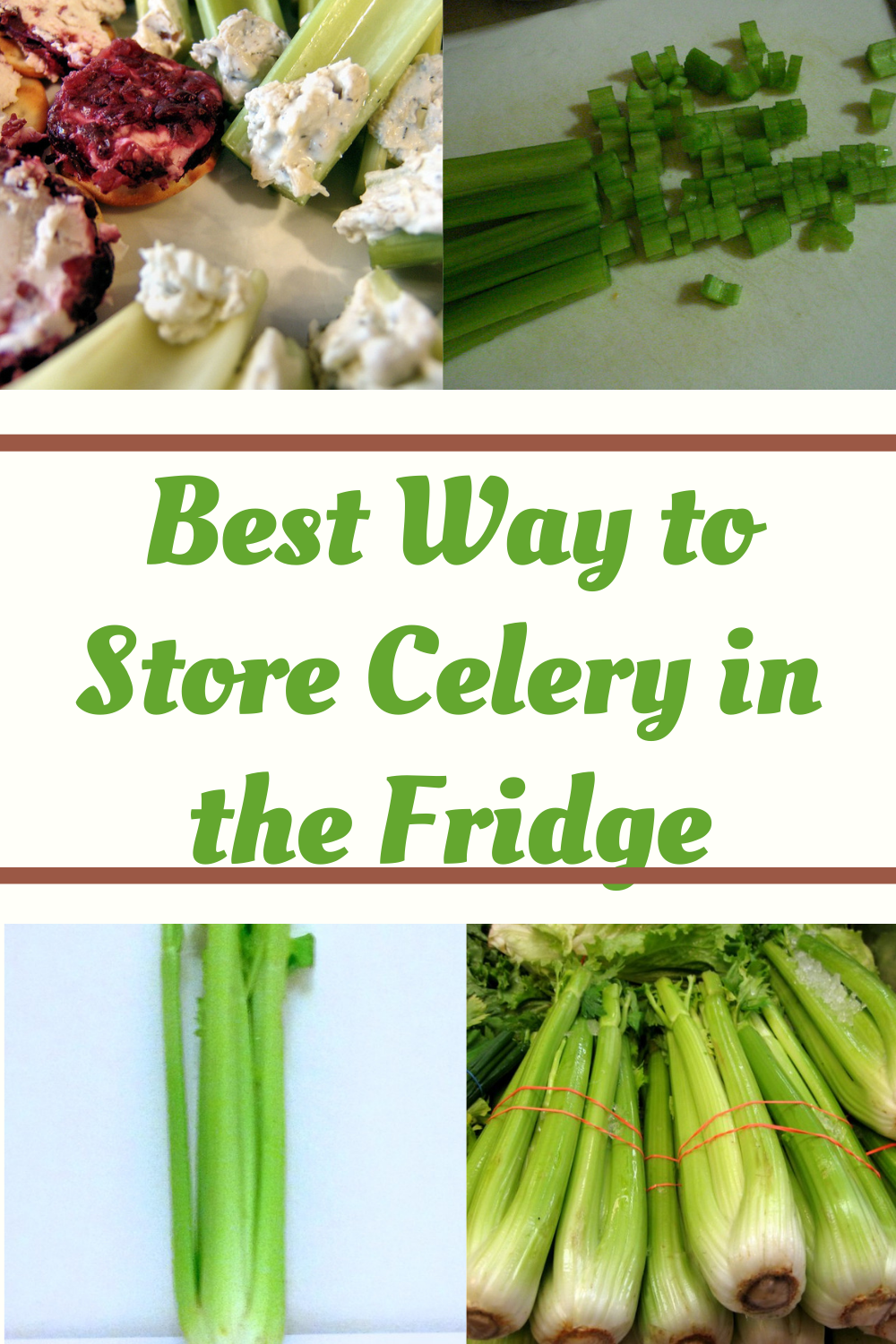 Best Way To Store Celery In The Fridge The Kitchen Professor Celery How To Store Asparagus How To Store Celery