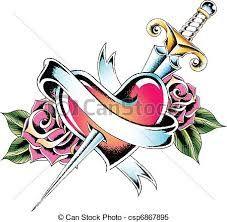 Dibujos De Rosas Buscar Con Google Dibujos De Rosas Tatoo Corazon Dibujos