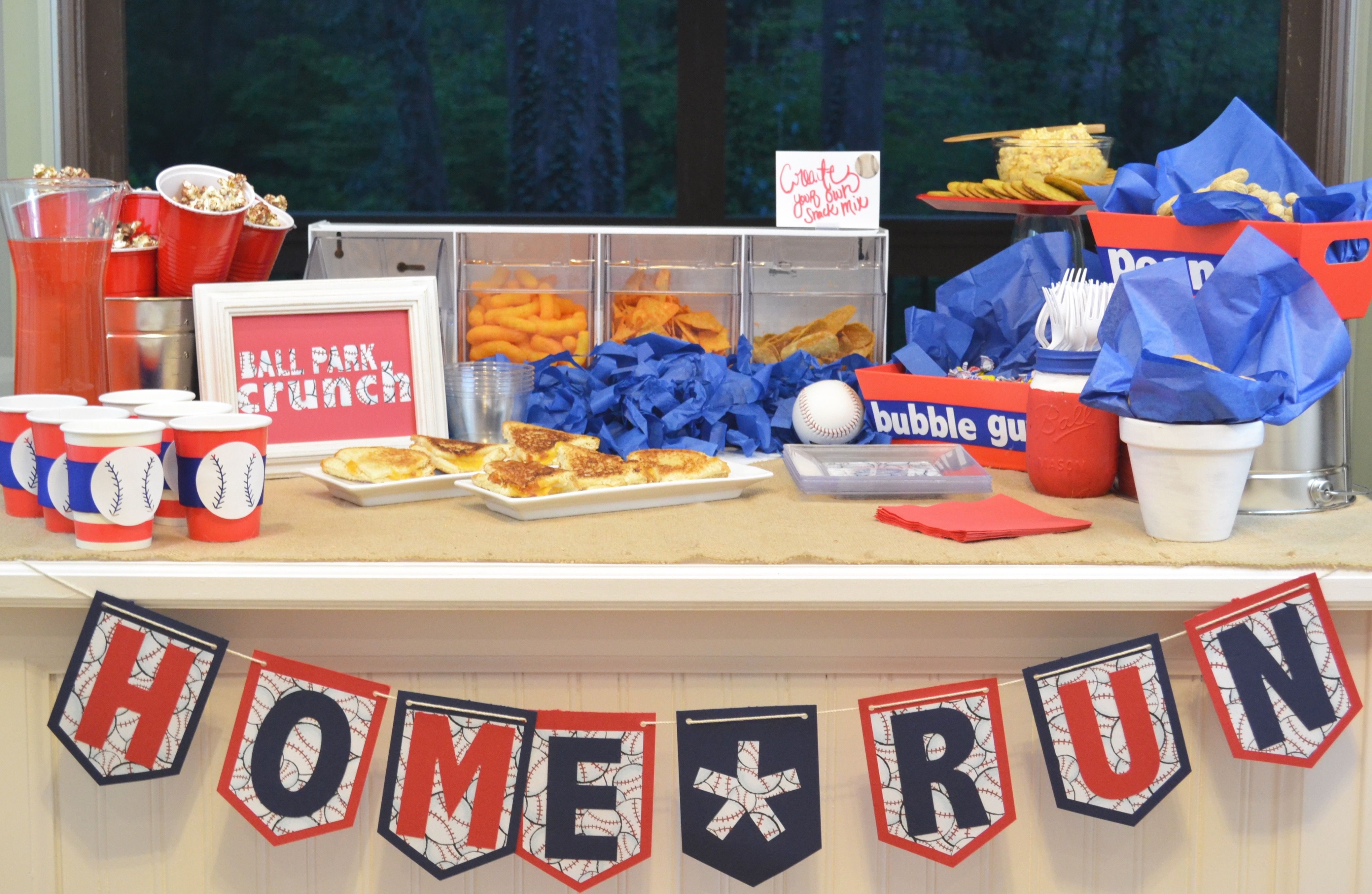 How To Host A 30 Baseball Tailgate Party Baseball Tailgate Party Tailgate Party Baseball Tailgate