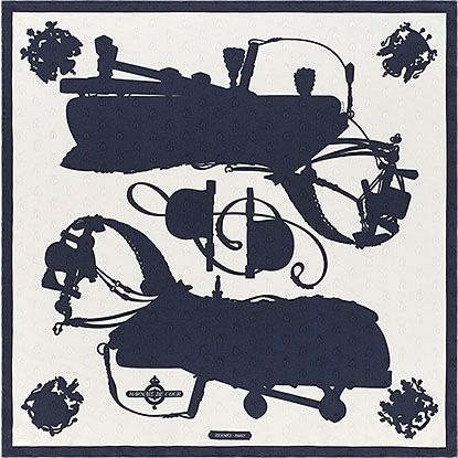 La Maison des Carrés Hermès | Harnais de Cour Tattoo