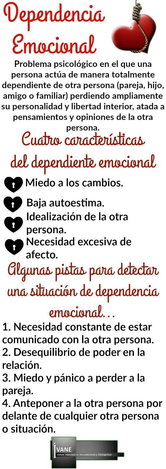 Dependencia emocional tratamiento y tips (con imágenes