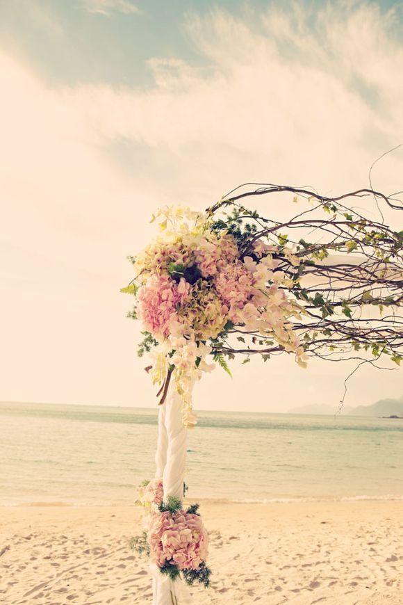 a03eb20dc1 21 Fun and Easy Beach Wedding Ideas | Will You Marry Me? | Wedding  ceremony, Mod wedding, Beach ceremony