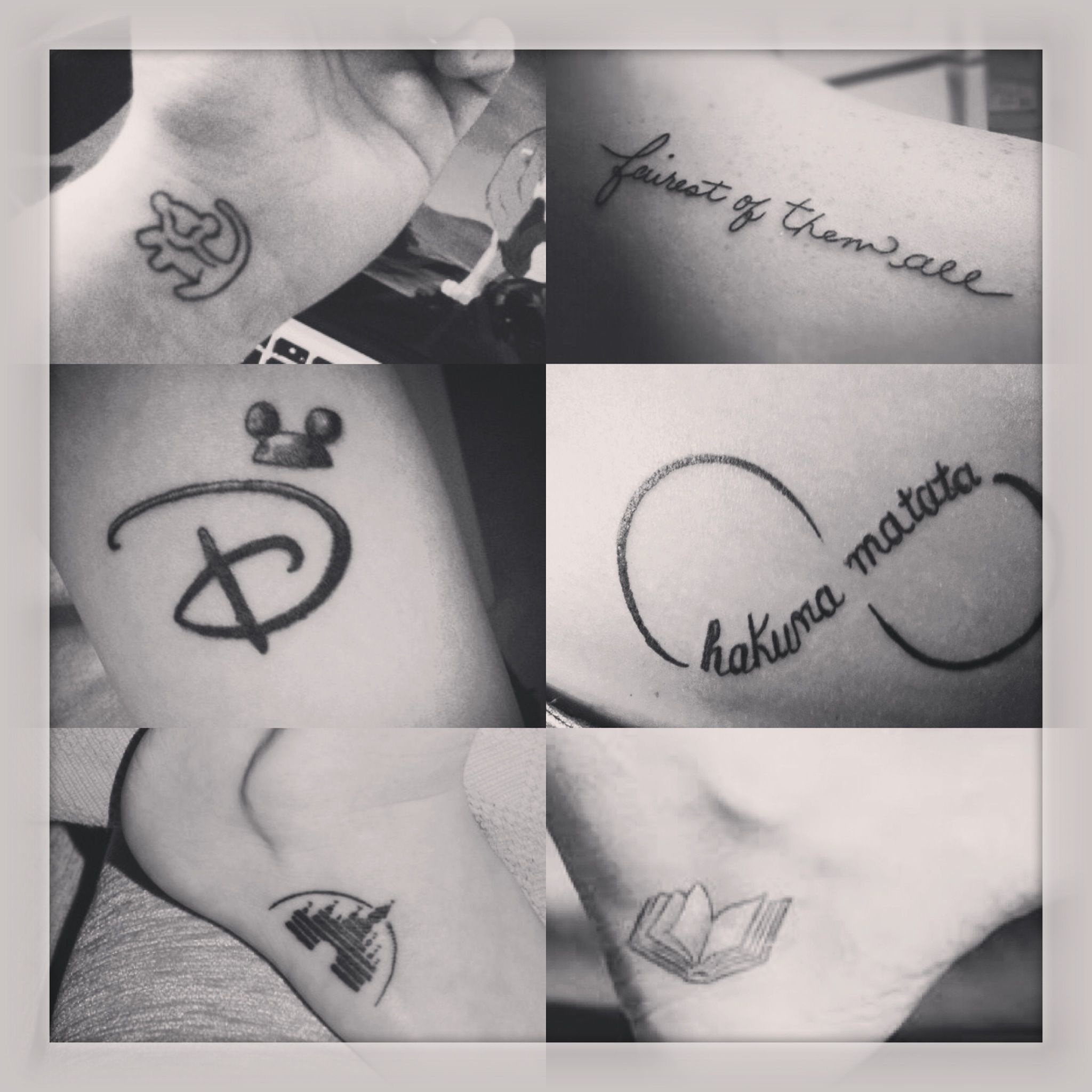 Disney tattoos i want especially the hakuna matata one - Tatouage hakuna matata ...