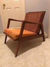 Merveilleux Mid Century Modern Danish Style Lounge Chair For Refurbishing Vintage May  Ship