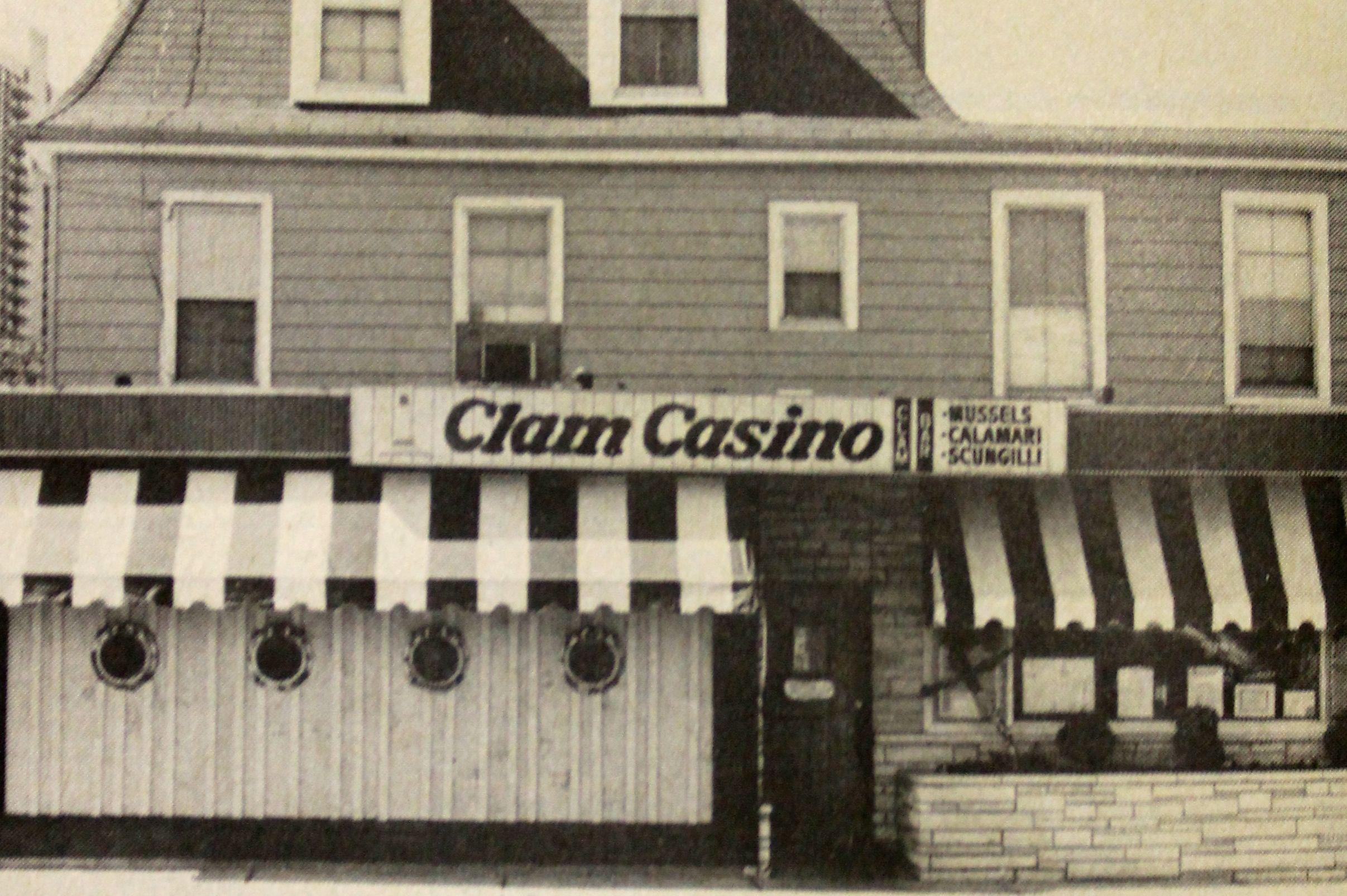 Clam Casino Restaurant in Fort Lee NJ 1980 s