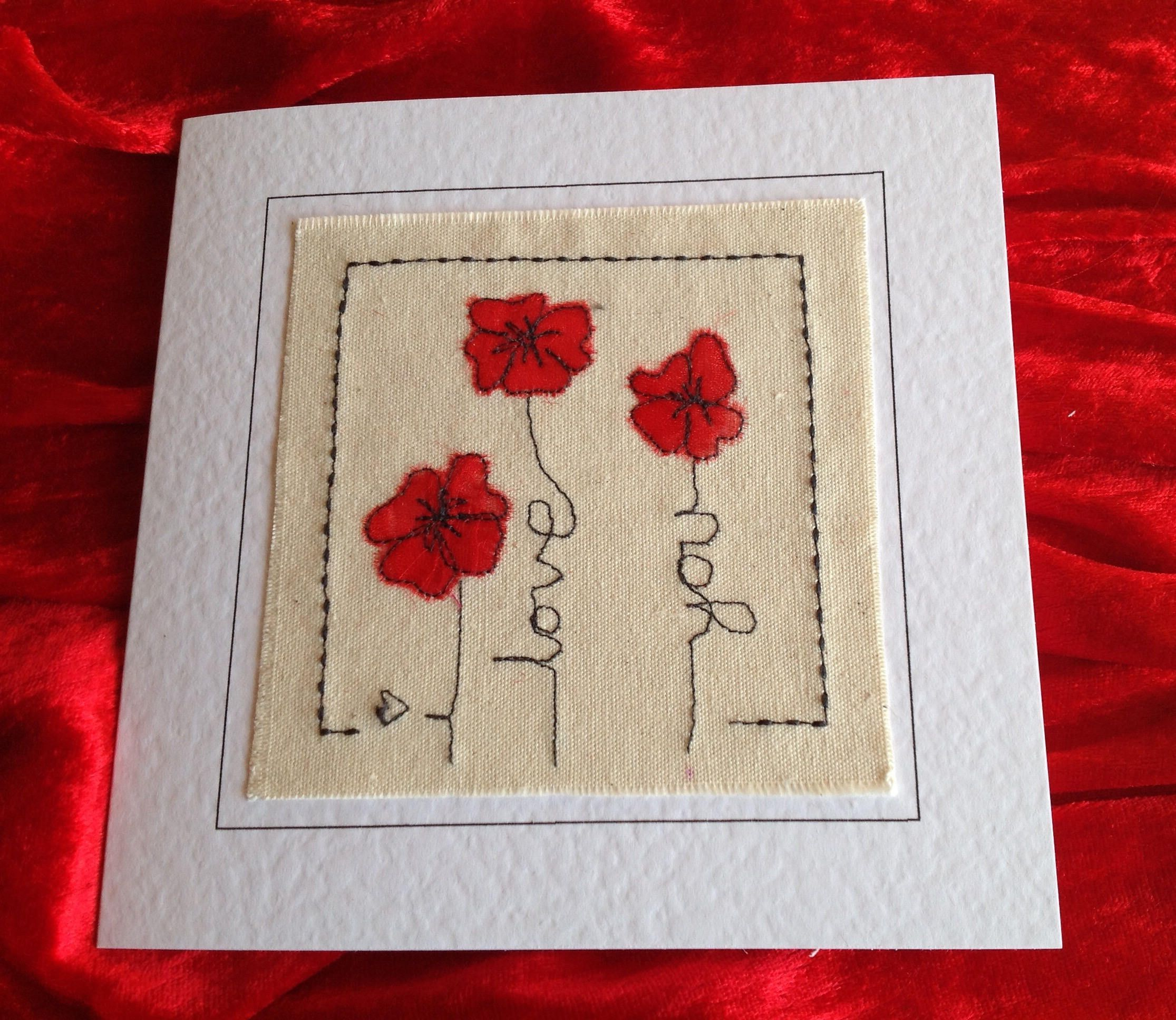 Handcrafted Romantic Valentine Card For Husband Wife Girlfriend