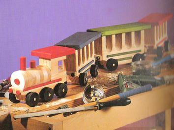 Eine Eisenbahn Holz,Spielzeug,Holzspielzeug,Eisenbahn