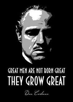 'Don Corleone' Metal Poster Print - BGW Beegeedoubleyou | Displate