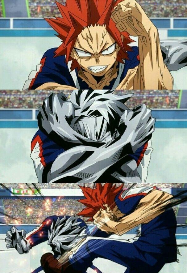 Boku No Hero Academia Kirishima Eijirou Tetsutetsu Mha My Hero Kirishima Eijirou Anime