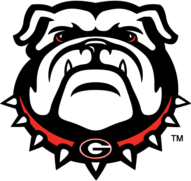 georgia bulldogs georgia bulldogs secondary logo ncaa