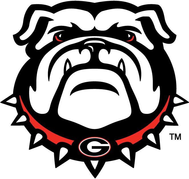 Georgia Bulldogs Georgia Bulldogs Secondary Logo Ncaa Division I D H Ncaa D H Georgia Bulldog Mascot Bulldog Wallpaper Bulldog Clipart