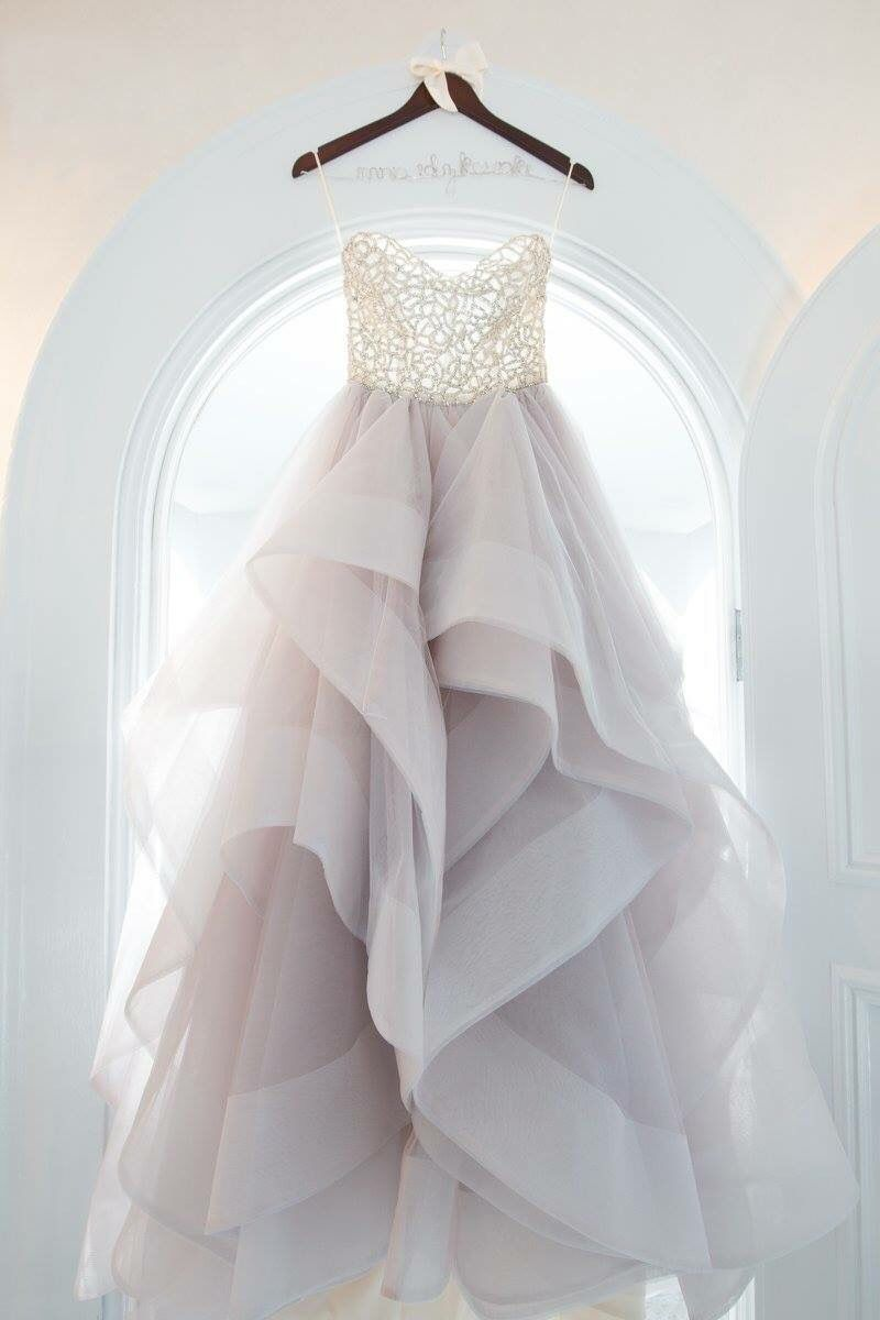 Hayley paige dori wedding dress  My beautiful custom DoriJosie combo gown by Hayley Paige  Wedding
