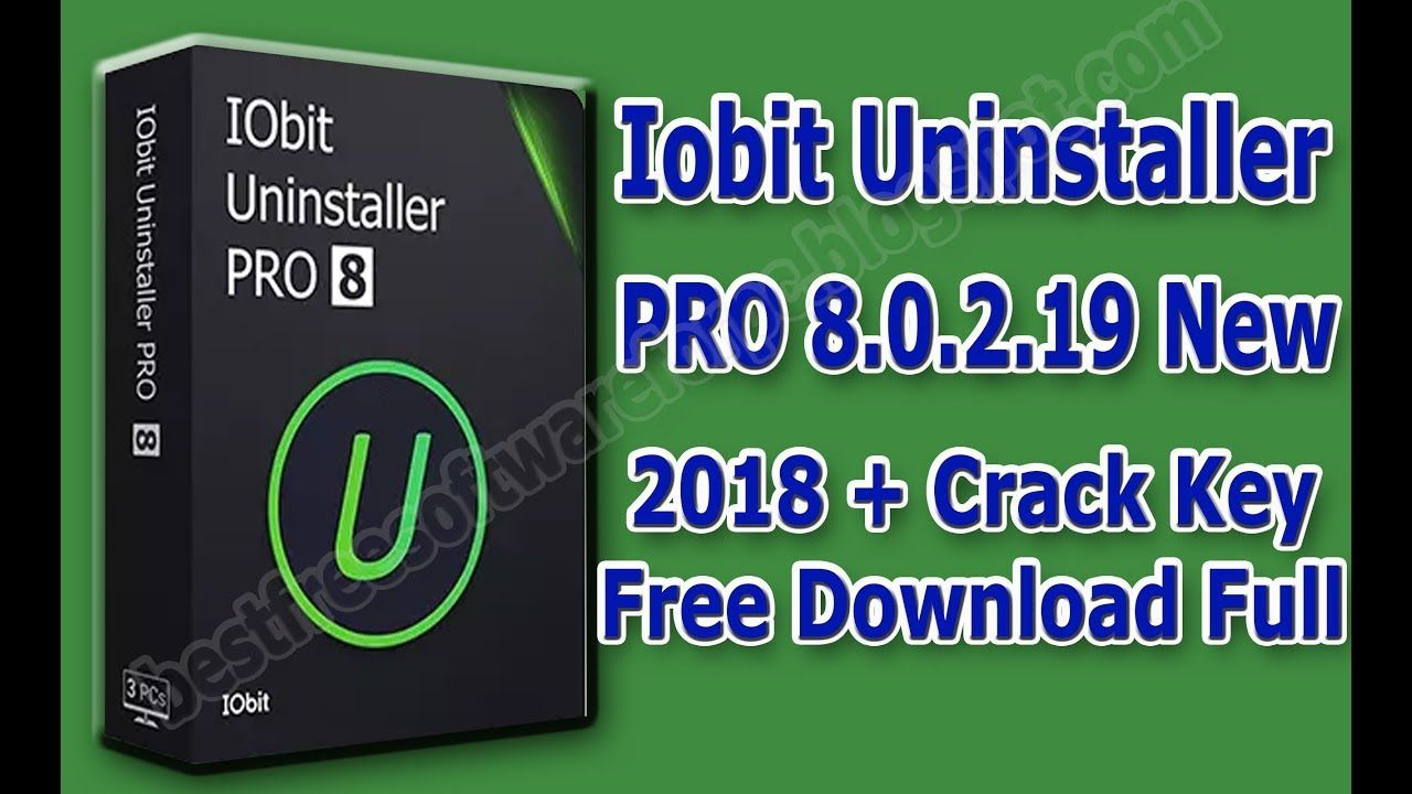 iobit uninstaller license key 2018