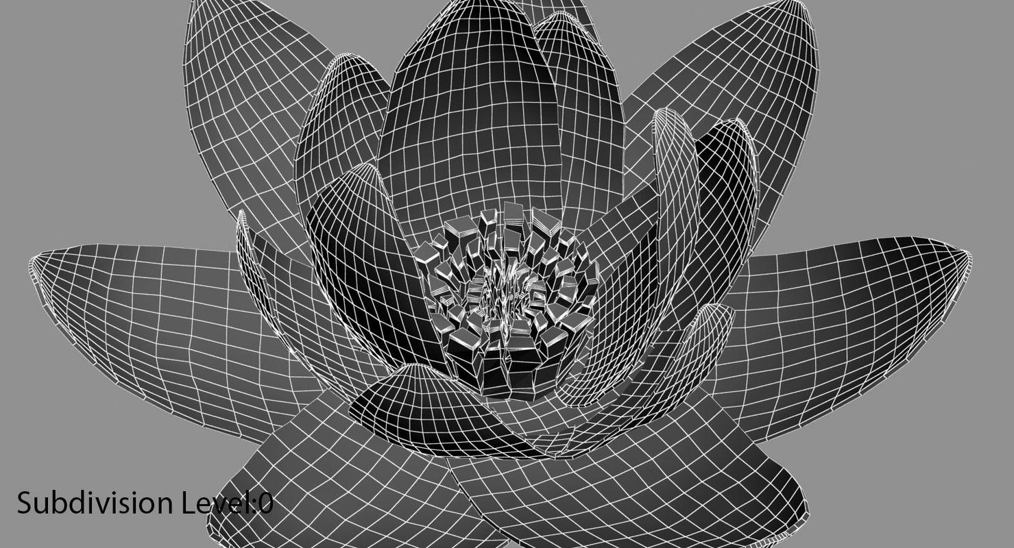 Free Max Model Flower Folk Art Painting Art Art Reference