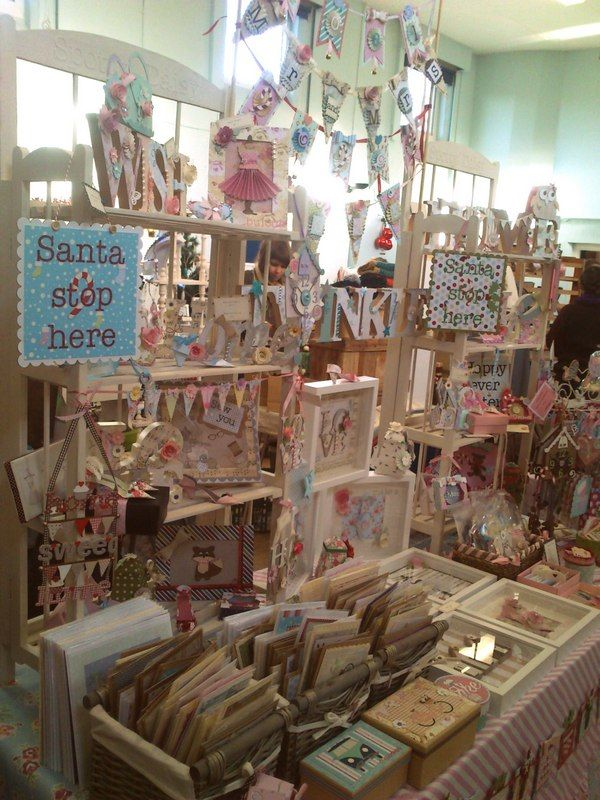 Spotty Daisy stall at the Vintage Escapades Festive Fair, Woore Victory Hall