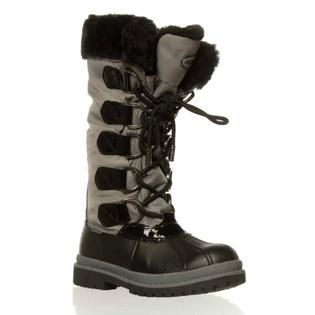 Khombu Birch High Winter Boot - Black/Silver
