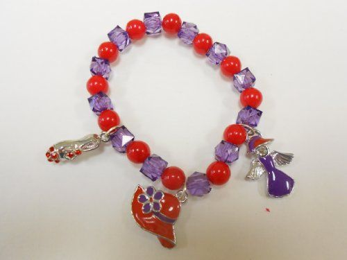 Red Hat Lady Society / Bracelet / Red Hat Charms/shoe/hat/angel& « Holiday Adds