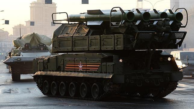 Las nuevas armas de Putin. Misiles tierra-aire Buk