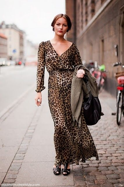 556c3314d26f Stylish Animal Print Maxi Dresses | my style/outfits I would wear ...
