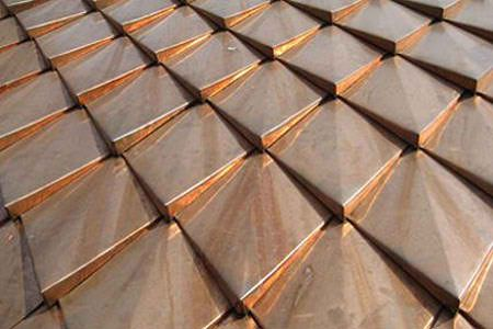 Top Quality Copper Roof They Look Like Dragon Scales