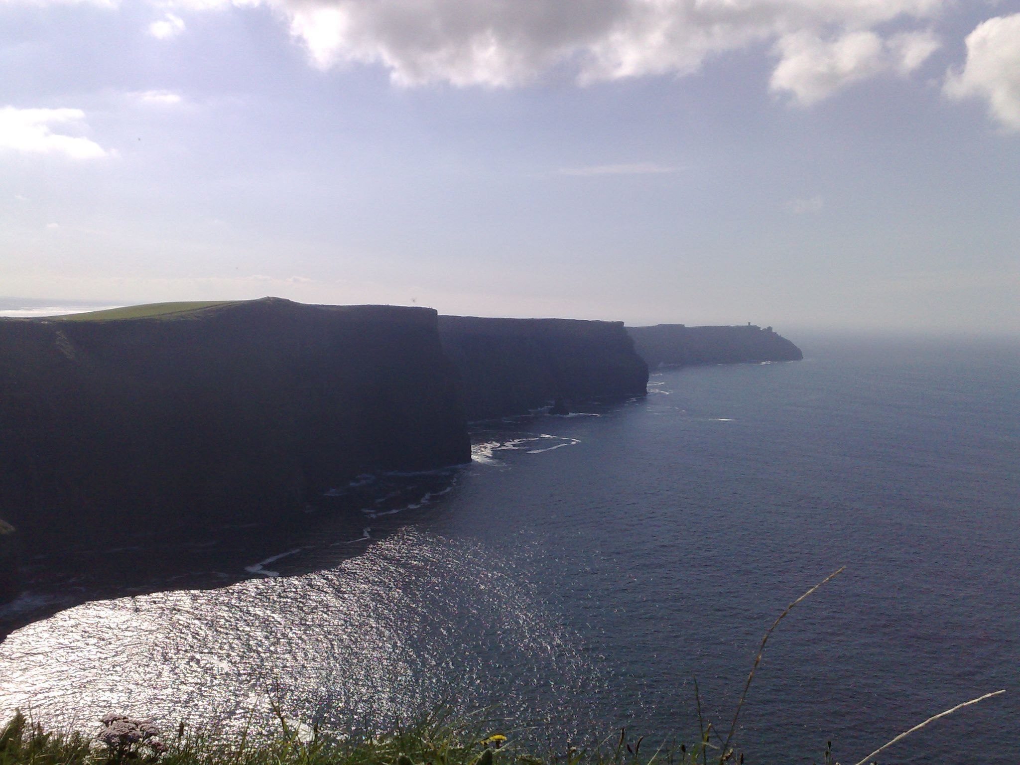 The Cliffs of Moher Romantic in a very dramatic way