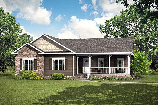 North carolina modular home floor plans elmwood ii ranch for Modular homes south carolina floor plans