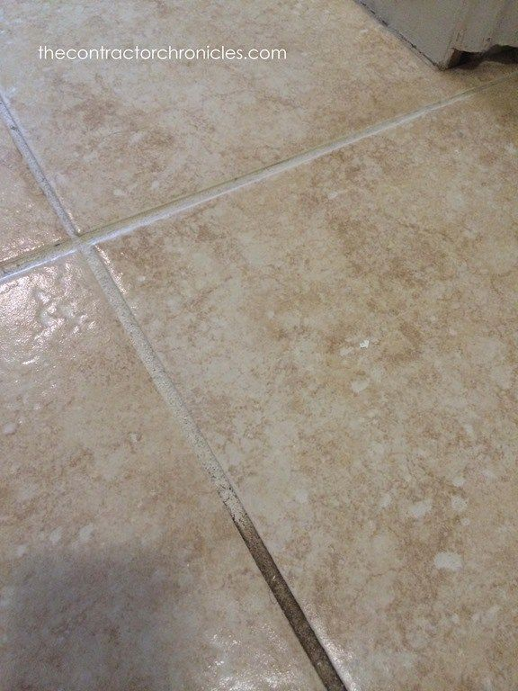 How to Quickly Clean Tile 23 copy Grout Pinterest Grout
